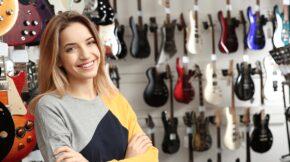 Trgovina z glasbili in glasbeno opremo